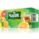 """ЧайОК """"Лимон"""". Зелёный  20 пак."""