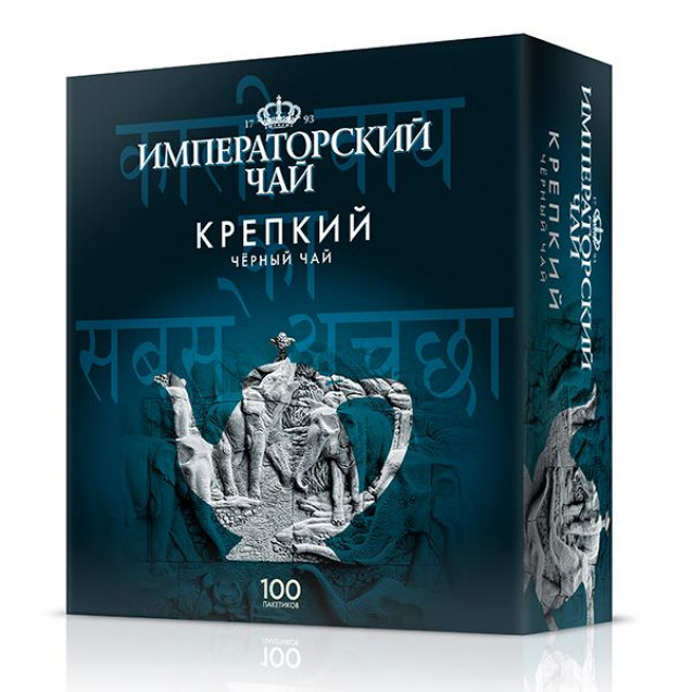 """Императорский чай """"Крепкий"""" 100 пак."""