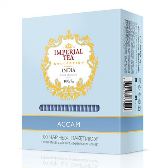 "Imperial Tea Collection ""Ассам"". 100 пак."