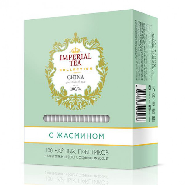 "Imperial Tea Collection ""Жасмин"". 100 пакетиков"