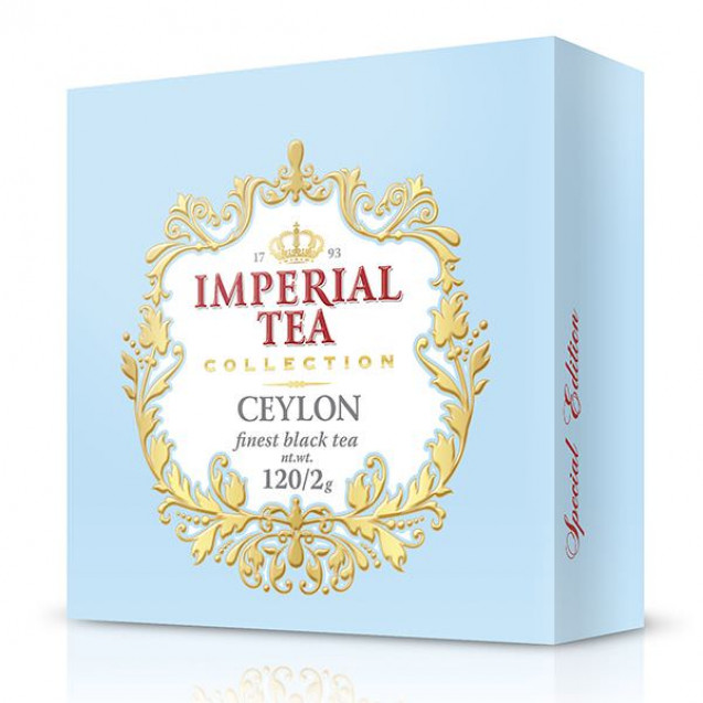"Imperial Tea Collection ""Цейлон"", 120 пак."