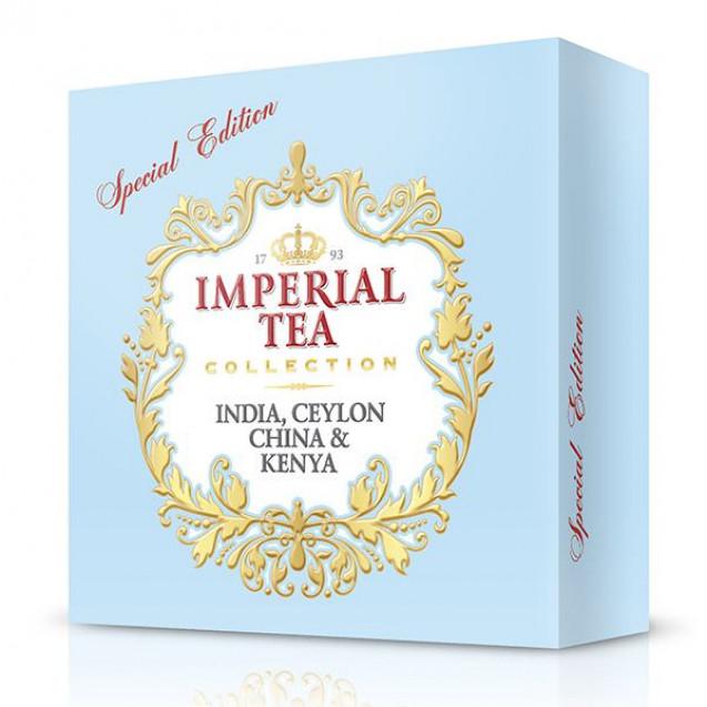 """Imperial Tea Collection """"Ассорти черных чаев"""". 120 пакетиков"""