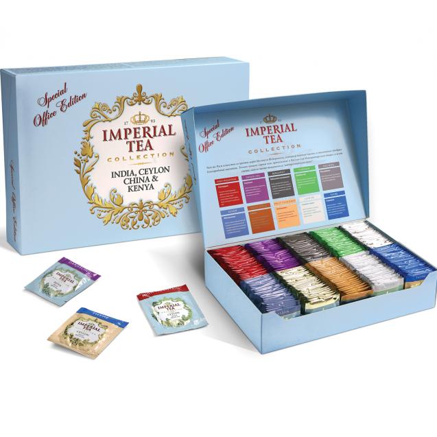 Собери коробку, 10 видов чая - 250 пакетиков чая.