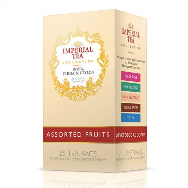 "Imperial Tea Collection ""Фруктовое ассорти"", 25 пак."