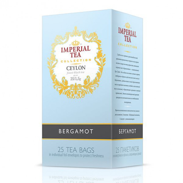 "Imperial Tea Collection ""Бергамот"". 25 пак."