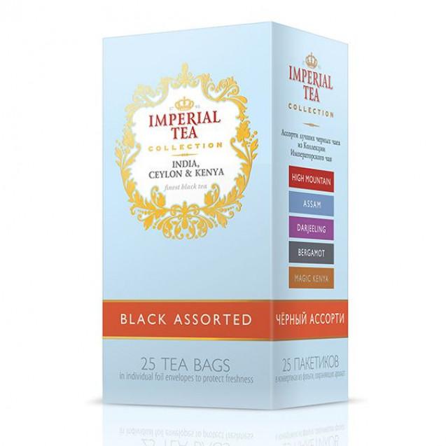 """Imperial Tea Collection """"Ассорти черных чаев"""". 25 пак."""