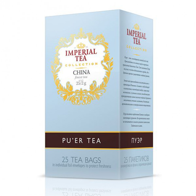 "Imperial Tea Collection ""Пуэр"", 25 пак."