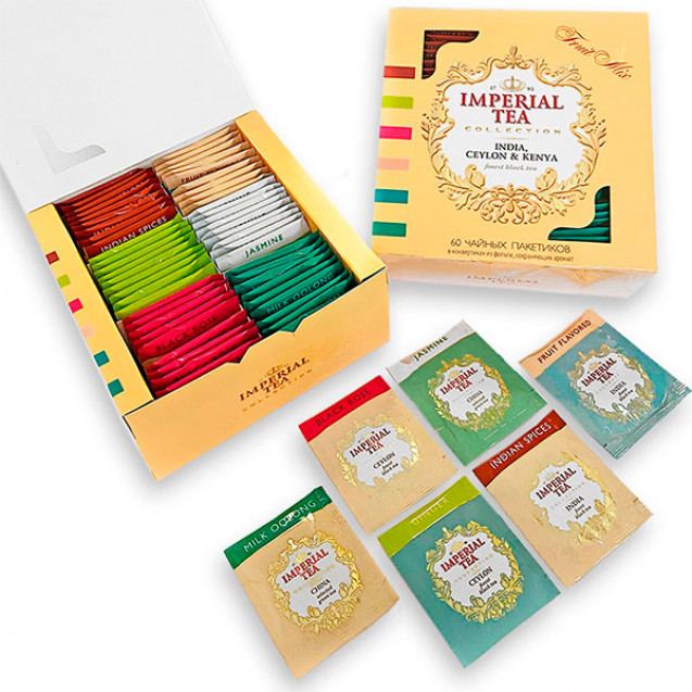 "Imperial Tea Collection ""Fruit Mix"", 60 пакетиков"