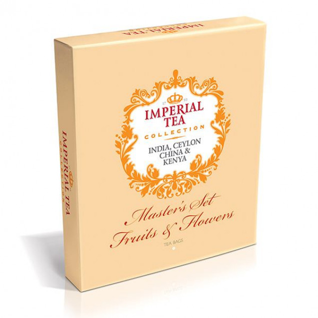 "Imperial Tea Collection ""Master's Set Fruits & Flowers"", 90 пак."