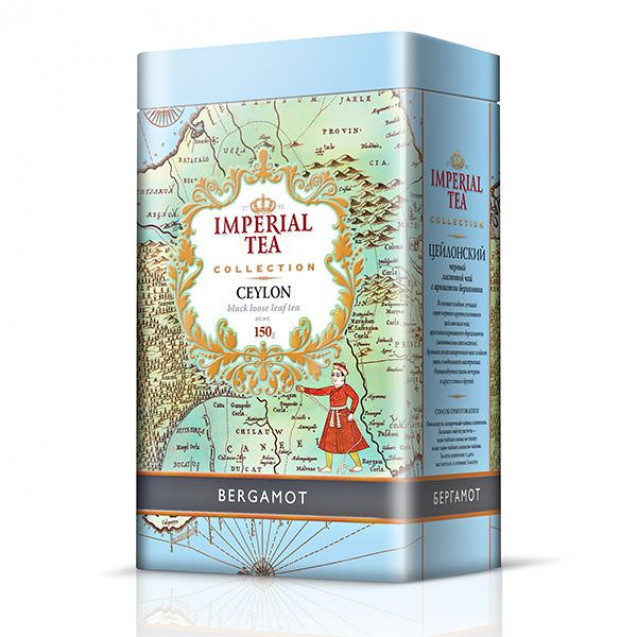 """Imperial Tea Collection """"Бергамот"""", 150 г. Ж/б."""