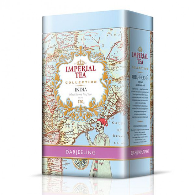 "Imperial Tea Collection ""Дарджилинг"", 120 г. Ж/б."