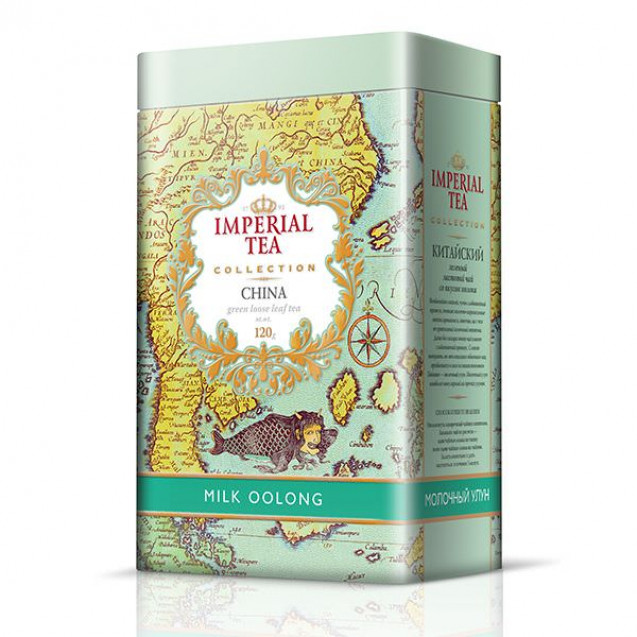 "Imperial Tea Collection ""Молочный Улун"", 120 г. Ж/б."