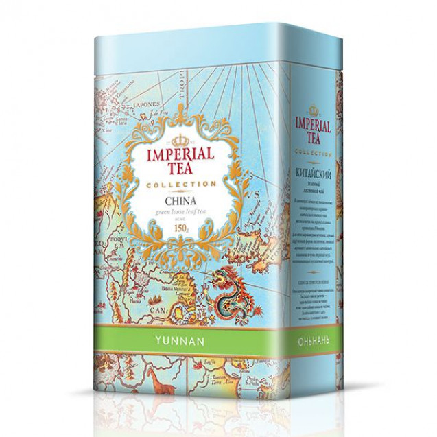 "Imperial Tea Collection ""Юньнань"", 150 г. Ж/б."