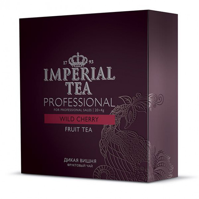 """Imperial Tea Professional """"Дикая вишня"""". 20 пакетиков"""
