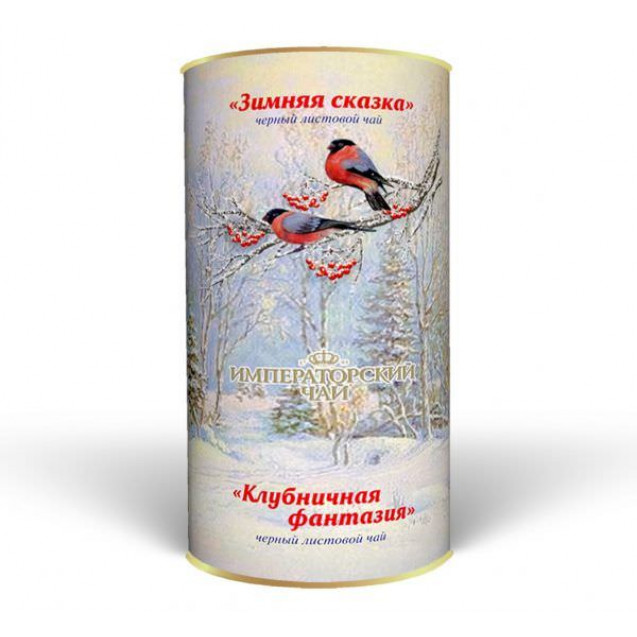 """Imperial Tea Collection """"Подарочный набор чая в банке «Зимняя сказка»"""", 100 г."""